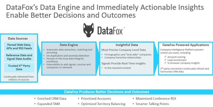 DataFox Data Engine Overview (Oracle Presentation, October 23, 2018)