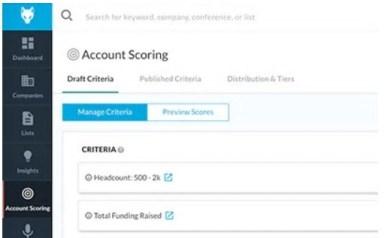 DataFox Account Scoring
