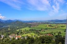 View from Neuschwanstein Castle