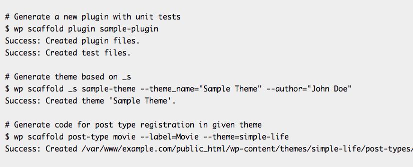 Starter kit and reusable scripts