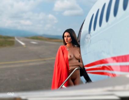 Photocreation: Gonzalo Villar – Model: Olga Alberti – Photo of Model: Arkadi Kozlovski