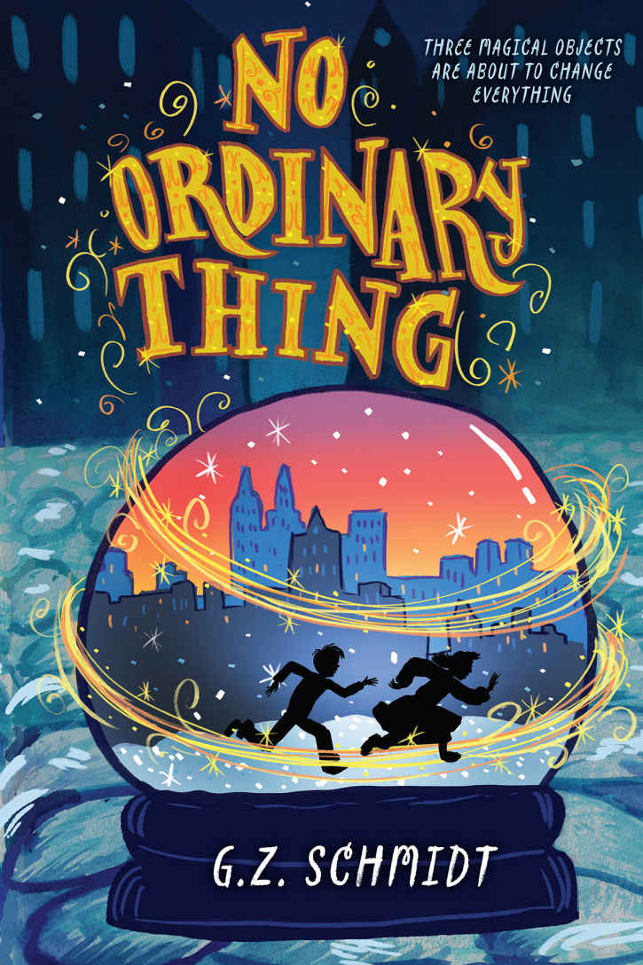 No Ordinary Thing Cover