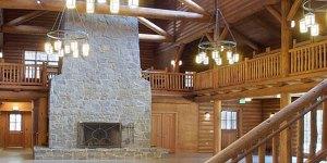 Girl Scouts Lodge Interior