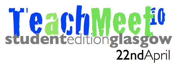 The logo for TeachMeet Student Edition Glasgow 2010