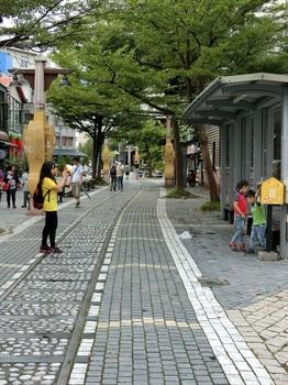 花蓮の街歩き