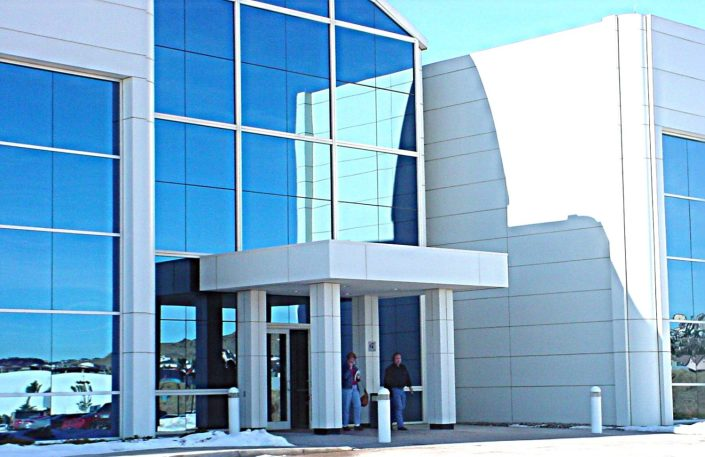 aluminum composite panel front entry