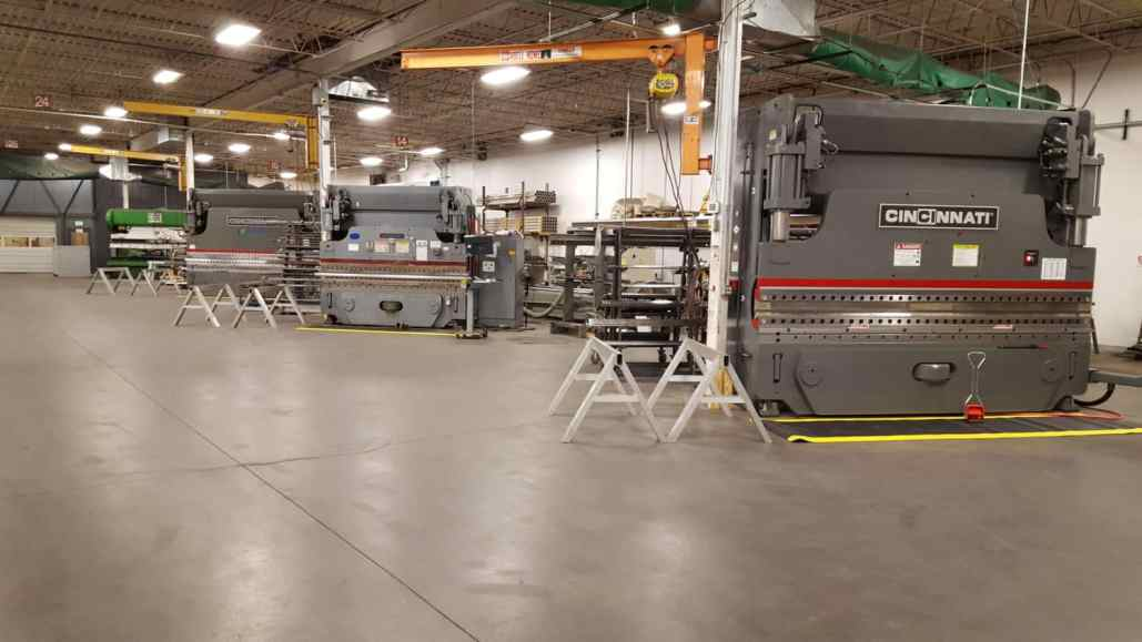 Metal Bending Forming Brake Metal Fabrication Denver