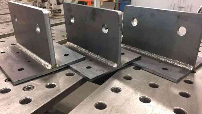 Welded Sunshade Brackets