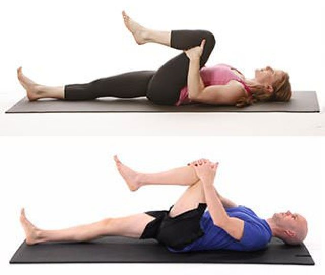 Single Knee To Chest Lower Back Pain One Knee To Chest