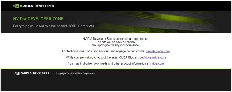 崩坏的NVIDIA开发者论坛
