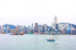 Hongkong Island from Tsim Sha Tsui promenade
