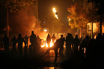 Émeutes en Banlieue