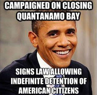 NDAA Président Obama, le socialisme pépère en action outre-Atlantique.
