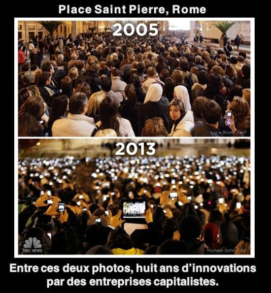 Place St Pierre, Rome : 8 ans d'innovations