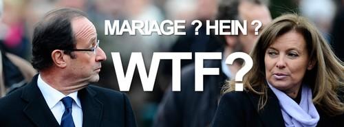 hollande, mariage ? wtf ?