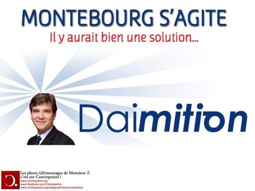 montebourg : daimition