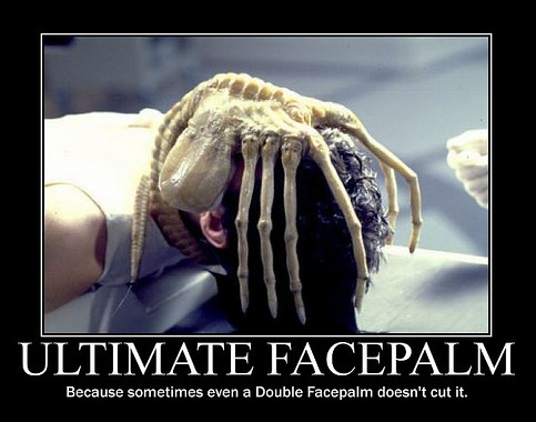ultimate facepalm