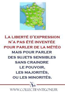 collectif antigone - liberté d'expression