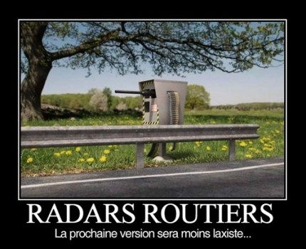 radars routiers moins laxistes