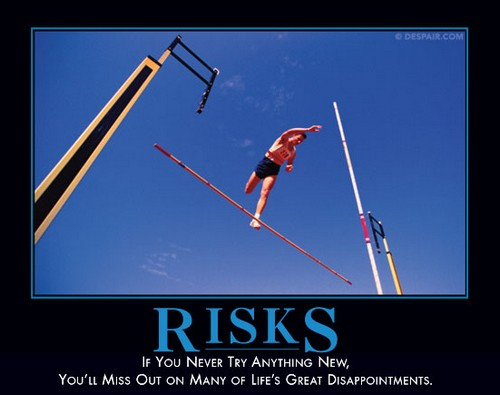 risk demotivator