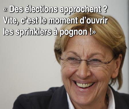 lebranchu - élections et sprinklers à pognon