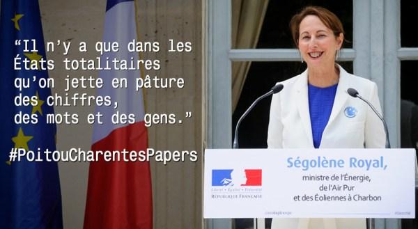 Ségolene Royal et les Poitou Charentes papers
