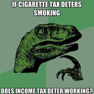 smoking tax income philosoraptor