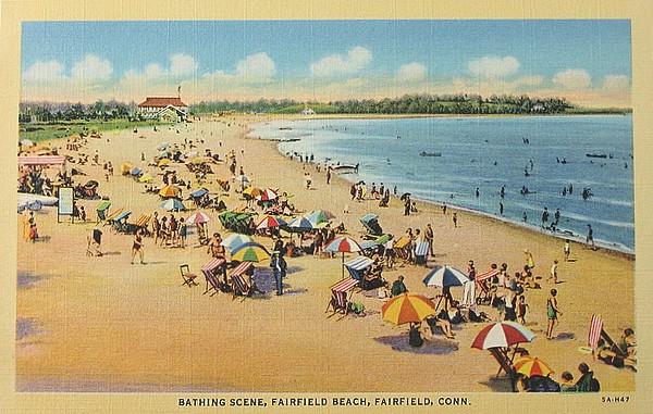 vintage beach - connecticut