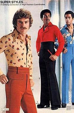 vêtements 70s