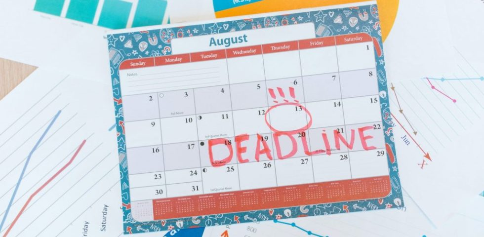 Don't work to a Deadline - ADVICE TO 6TH YEAR ME