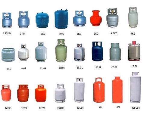 Aneka kemasan LPG (butana dan Propana) Aniol gasol, Swedia. Sumber : http://www.aniolgasol.se/vad-%C3%A4r-gasol-9366119
