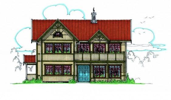 Bygga hus gammal stil