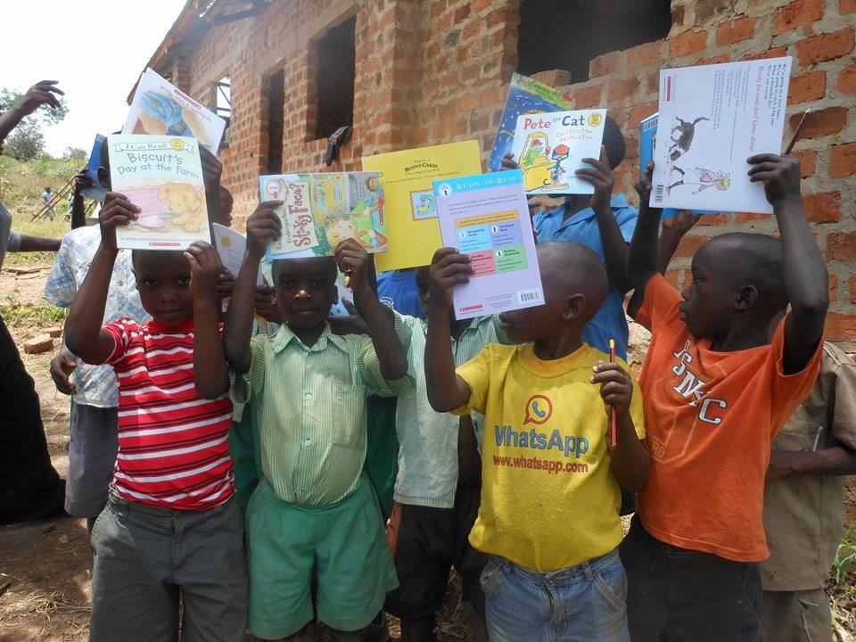 h2hintl books given to children in Africa