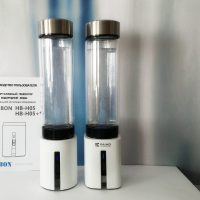 Генератор водорода 2в1 H2Magic HB-H05 Plus поколение 4,5+ (портативный с функцией дыхания водородом, стеклянная колба)