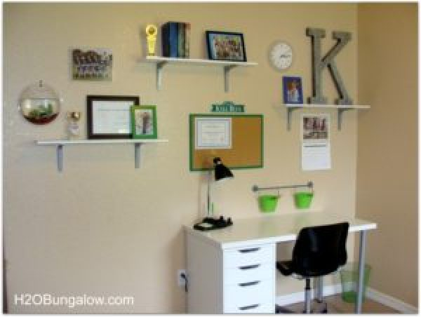 Organize a tween room and get rid of clutter by using these ideas