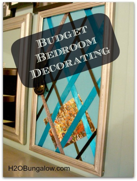Budget Bedroom Decorating Ideas Get A Big Look On A Small Budget!