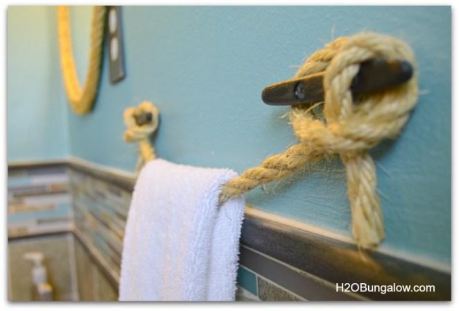 Do It Yourself Home Design: DIY Nautical Towel Holder