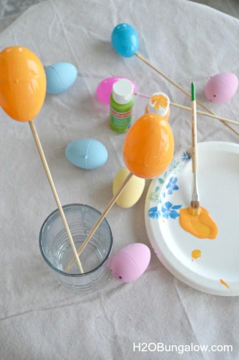 paint eggs for nautical easter eggs