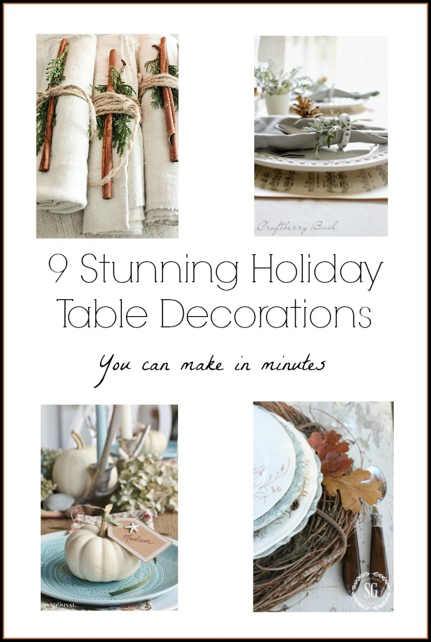 9 Stunning Spring Nail Art Ideas: Holiday Table Decorations You Can Make