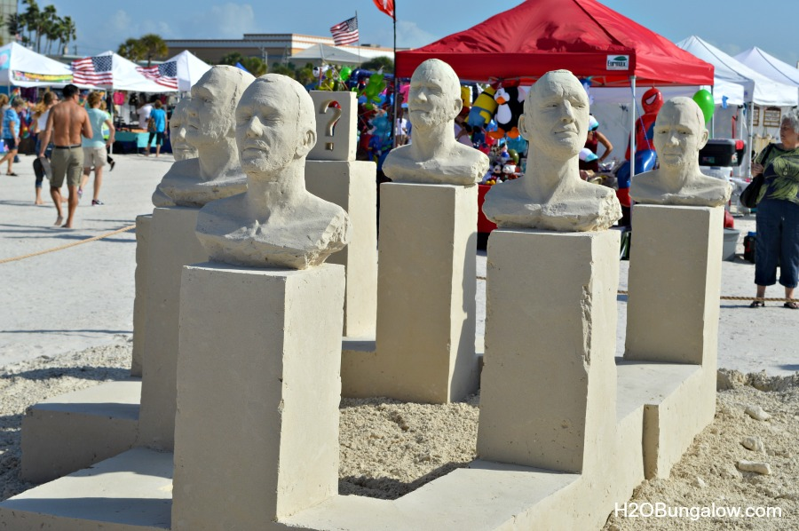 Sand-sculptures-at-the-beach-H2OBungalow