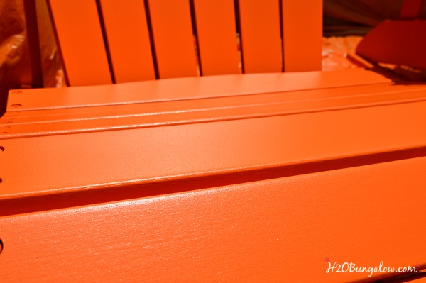 Perfect finish with a paint sprayer for outdoor furniture H2OBungalow