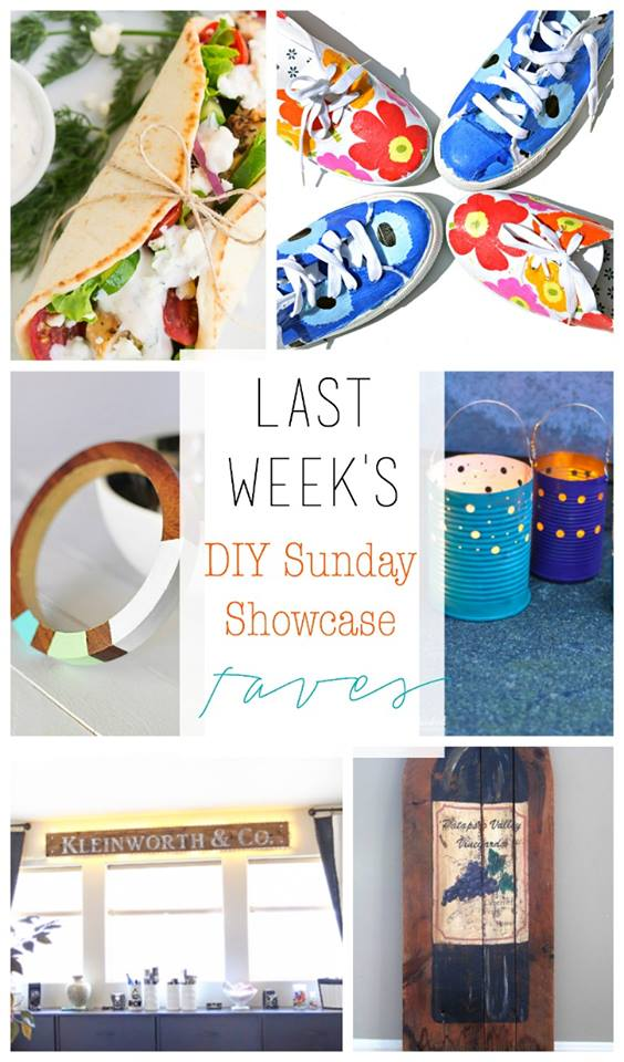 Last weeks DIY Sunday Showcase Feautures are bright, bold and colorful! See these talented projects and lots more in this weeks DIY Sunday Showcase H2OBungalow