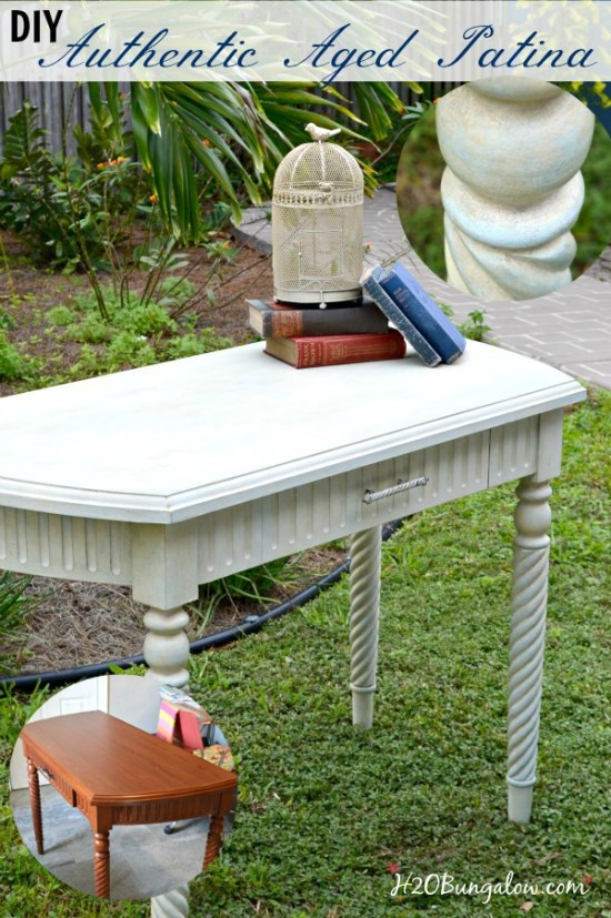 DIY-authentic-aged-patina-desk-makeover-tutorial-with-Amy-Howard-Paint-H2OBungalow