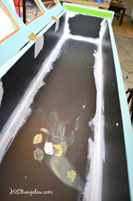how to prepare surfaces for painting so your furniture piece lasts H2OBungalow