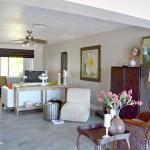 Contemporary Coastal Living Room Makeover H2obungalow