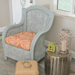 How to paint wicker furniture with a paint sprayer. Tutorial and video shows how to paint a wicker chair with what paints to use on wicker for best results. - Find more than 450 DIY tutorials on H2OBungalow.com
