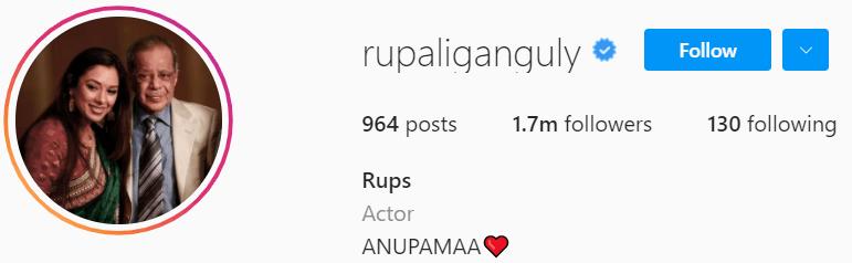 Biography of Rupali Ganguly
