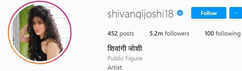 Biography of Shivangi Joshi