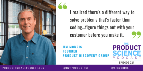 The Jim Morris Hypothesis: Product Teams Do Best When They Build Just Enough to Learn