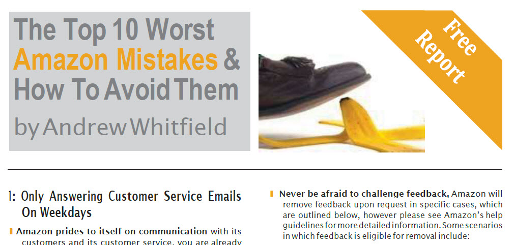 The Top 10 Worst Amazon Mistakes & How To Avoid Them